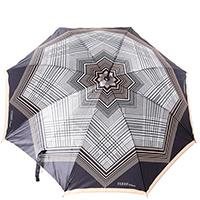 Зонт-трость Ferre GR-2 бежевый полуавтомат, фото