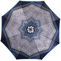Зонт-трость Ferre GR-2 синий полуавтомат, фото