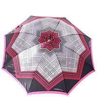 Зонт-трость Ferre GR-2 бордовый полуавтомат, фото