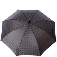 Зонт-трость Ferre GR-4 серо-коричневого цвета, фото