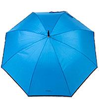 Зонт-трость Ferre LA-1010 полуавтомат синего цвета, фото