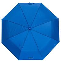Зонт-полуавтомат Ferre синий в 2 сложения, фото