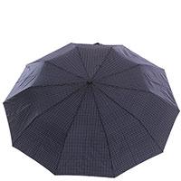 Зонт-полуавтомат Ferre темно-синего цвета, фото