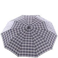 Зонт-полуавтомат Ferre складной в клетку, фото