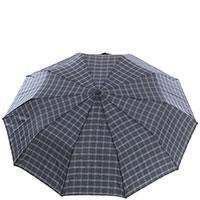 Складной зонт-полуавтомат Ferre в клетку, фото