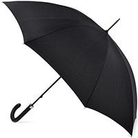 Мужской зонт-трость Fulton Minister черного цвета, фото