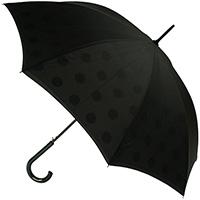 Зонт-трость Fulton Bloomsbury-2 Polkadot с двусторонней расцветкой, фото