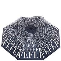 Женский зонт-автомат Ferre черного цвета, фото
