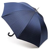 Зонт-трость Pasotti классический синего цвета, фото