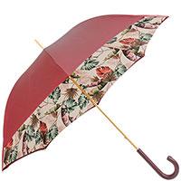 Зонт-трость Pasotti с тропическим принтом внутри, фото