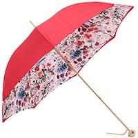Красный зонт-трость Pasotti фигурной ручной, фото