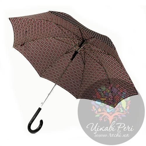 Зонт-трость автоматический сатиновый, фото