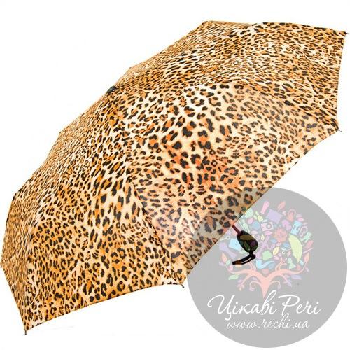 Зонт автоматический в 3 сложения сатиновый Doppler, фото