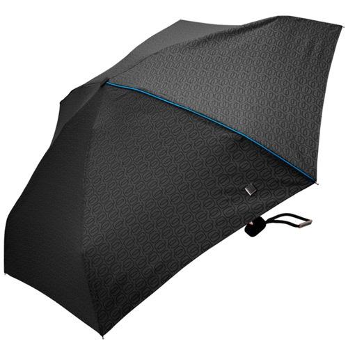 Зонт Piquadro черный механический, фото