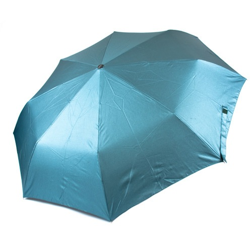 Женский зонт автоматический Три Слона голубо-зеленый, фото