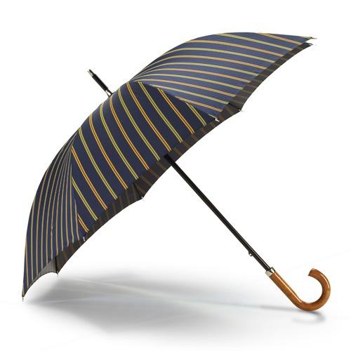 Зонт Dalvey Gentlemans Walking синие полоски, фото
