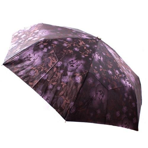 Яркий женский зонт автоматический Три Слона сиреневый, фото