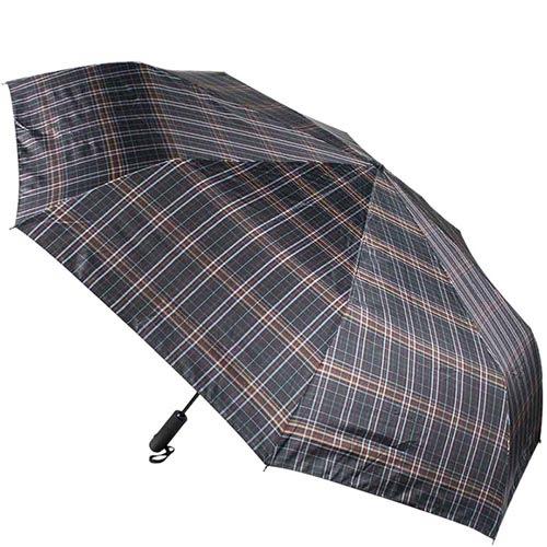 Большой зонт унисекс Ferre в клетку с автоматическим механизмом и системой антиветер, фото