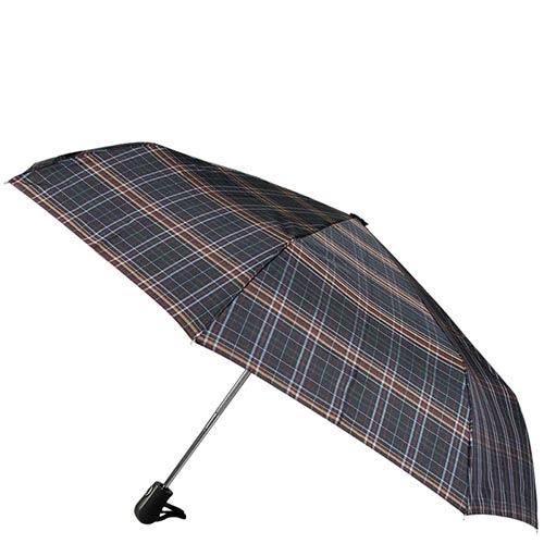 Автоматический зонтик Ferre с антиветровой системой в крупную клетку, фото