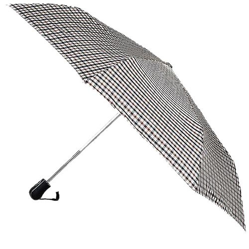 Классический зонт-автомат Ferre с нейтральную клетку, фото