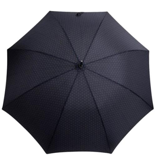 Зонт-трость Ferre Milano синего цвета в ромбы, фото