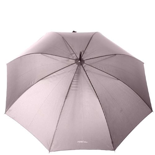 Зонт-трость Ferre серый полуавтомат, фото