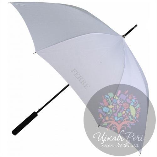 Зонт-трость с двойным куполом в нейлоновом чехле, фото