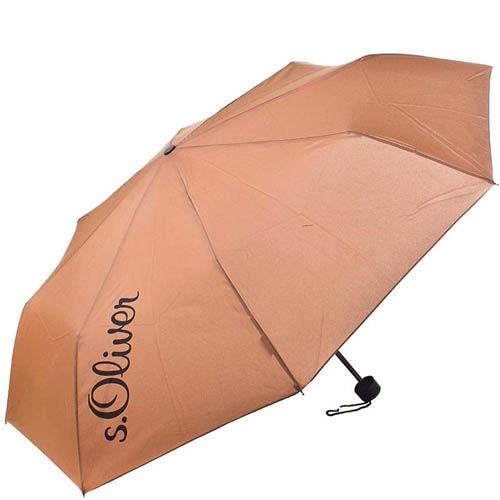 Зонт механический Doppler S.Oliver Fruit Brown, фото