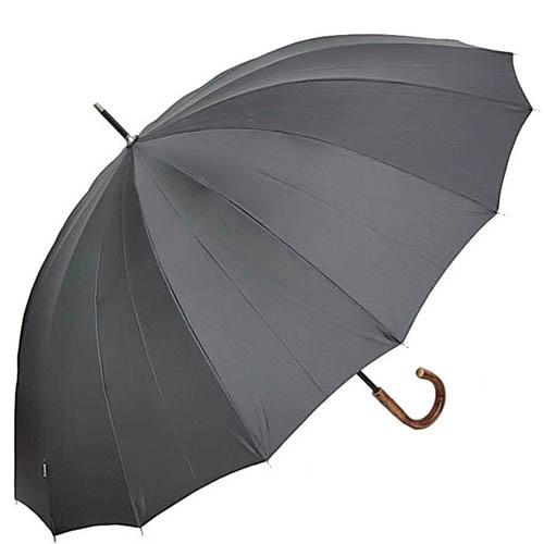 Зонт-трость Bugatti 71763BU серого цвета, фото