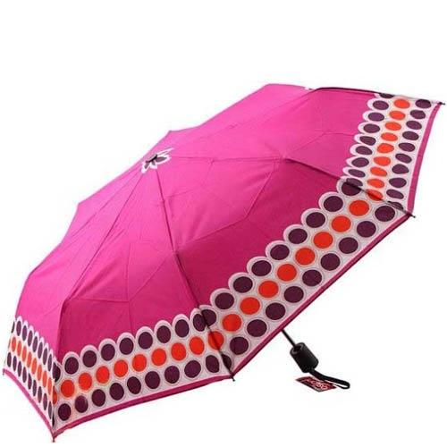 Зонт полуавтомат Derby женский модель 72065PGR розового цвета, фото