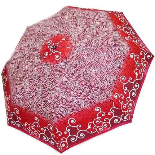 Зонт-полуавтомат Doppler женский 73016519 красного цвета в точечный узор, фото