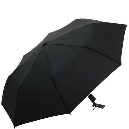 Зонт-полуатомат Doppler мужской 730166 черного цвета, фото