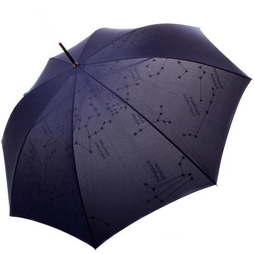 Зонт-трость Doppler Звездное небо полуавтомат, фото