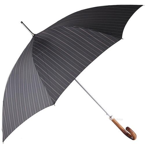Зонт-трость Doppler автоматический с ручкой из ценных пород дерева, фото