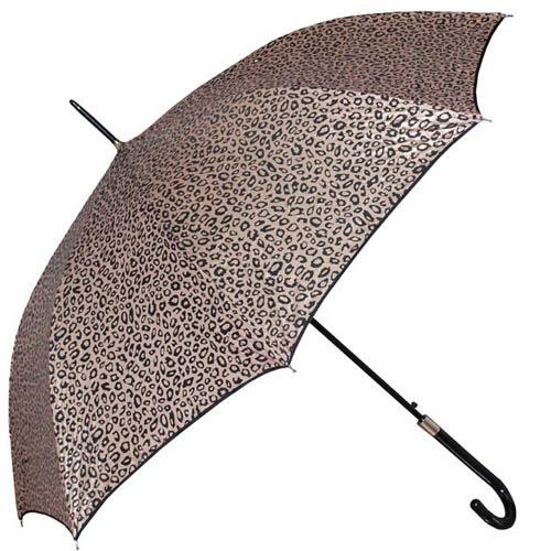 Зонт-трость Doppler женский модель 740865L с леопардовым принтом, фото
