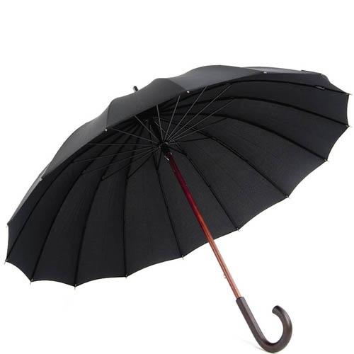 Зонт-трость Doppler мужской модель 74166 черного цвета, фото
