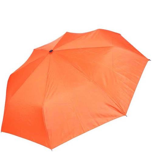 Зонт-полуавтомат Doppler женский модель 744146318 однотонный оранжевого цвета, фото