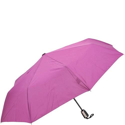 Зонт-полуавтомат Doppler женский модель 744146318 однотонный розового цвета, фото
