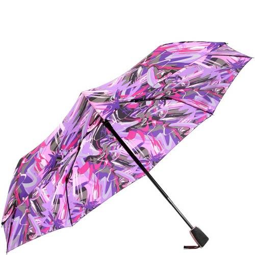 Зонт-автомат Doppler женский модель 7441465PO разноцветный сиреневый, фото