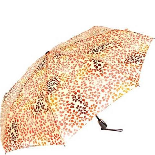 Зонт автомат Doppler модель 7441465S женский оранжевый с коричневым, фото
