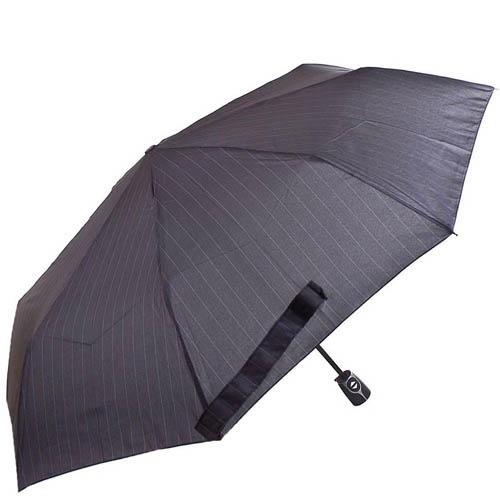 Зонт-автомат Doppler мужской модель 7441467 темно-серого цвета в полоску, фото