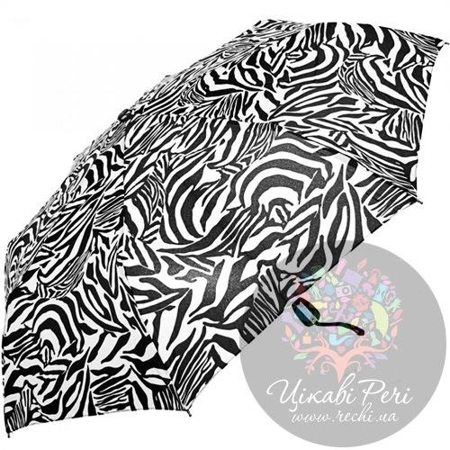 Зонт автоматический Doppler с принтом зебры, фото