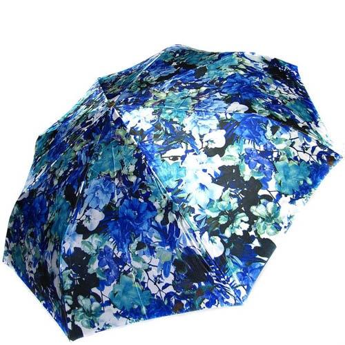 Зонт-автомат Doppler женский модель 74665GFGFO синий с принтом, фото