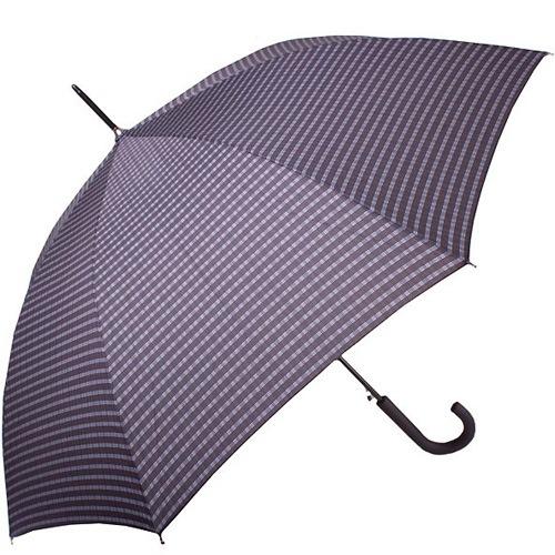 Зонт-трость Derby автоматический в клетку, фото