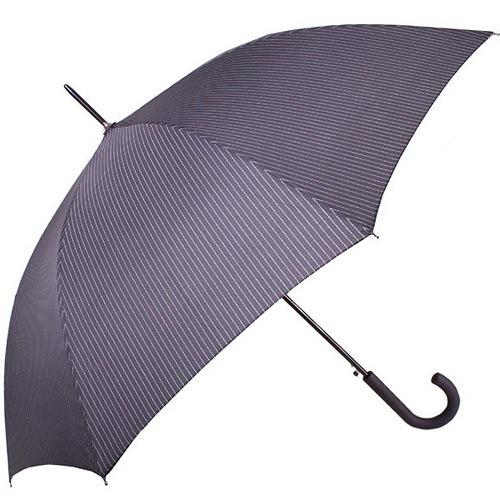 Зонт-трость Derby автоматический в полоску, фото