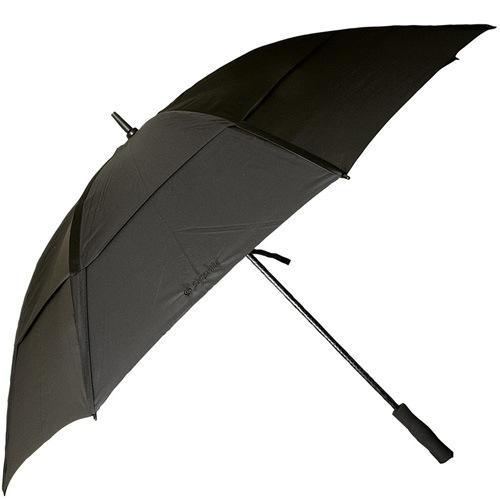 Зонт-трость Samsonite с системой «антиветер» черный большой, фото