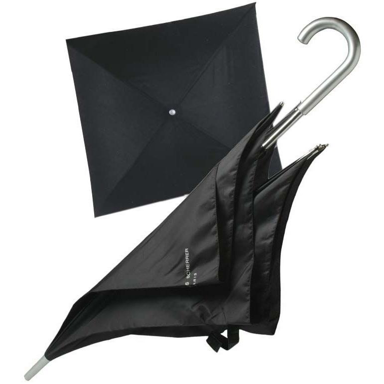 Зонт-трость Jean-Louis Scherrer «Silver Square» черный