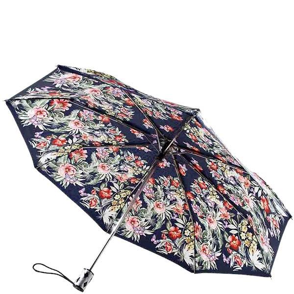 Большой зонт-автомат Ferre Baldinini с цветным цветочным принтом