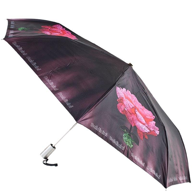 Женский зонт-автомат Ferre Baldinini с принтом в форме роз