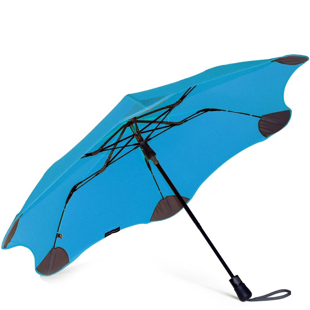 Зонт Blunt XS Metro голубой полуавтоматический в два сложения